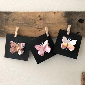 Mini Blank Notecards-Warm Luxury Color Scheme